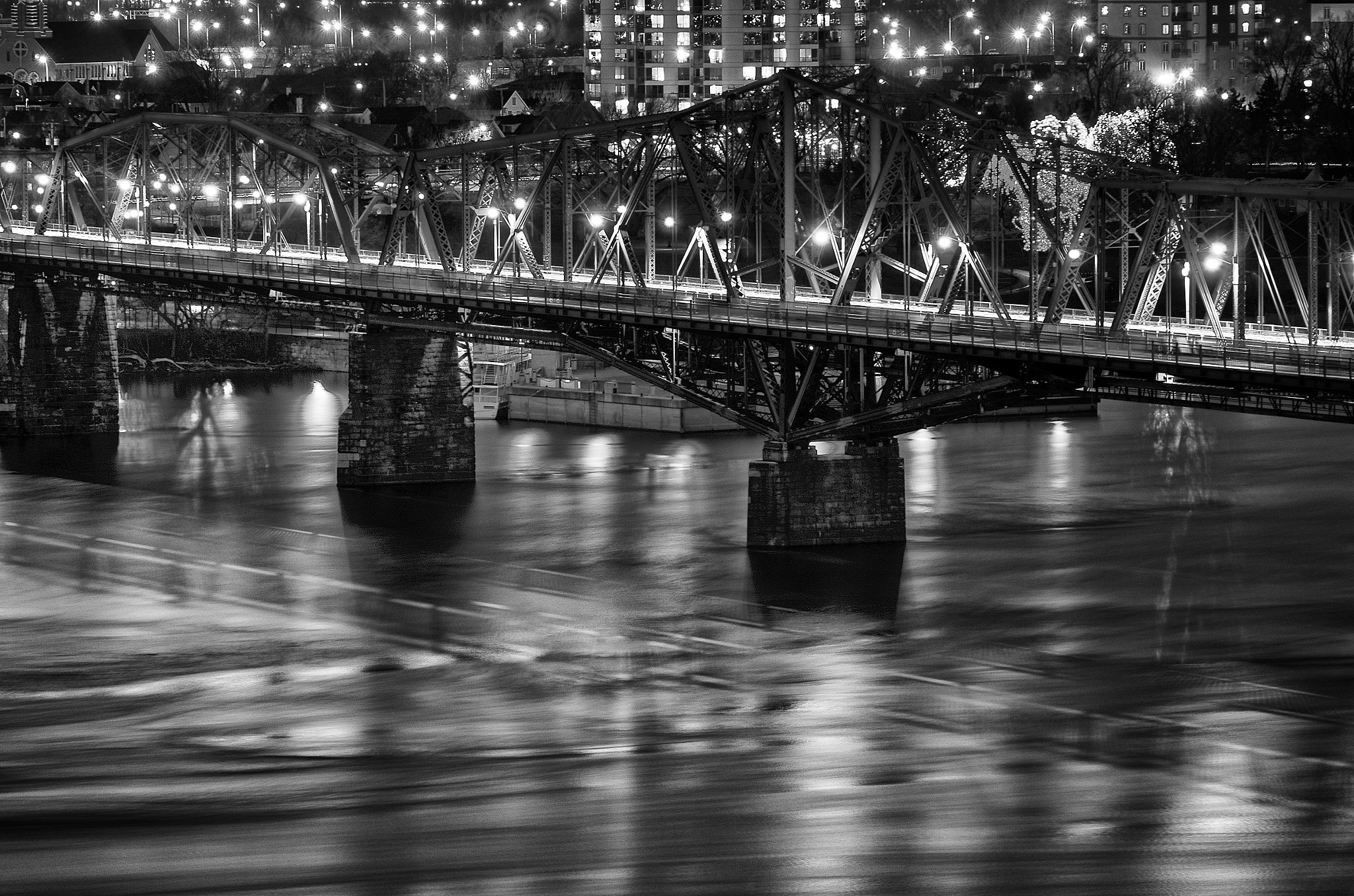 Photograph Night Reflections by Philip Rice on 500px