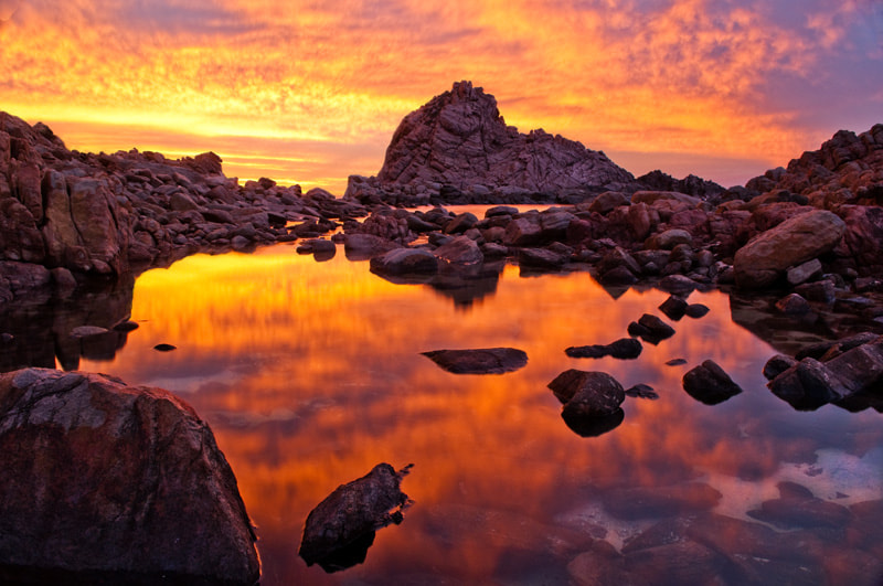 Photograph reflections of a sunburnt sky by shane schilders on 500px
