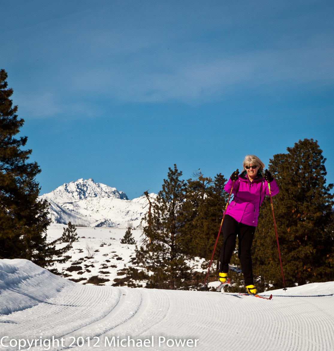 Photograph Methow Valley Skiing by Michael Power on 500px