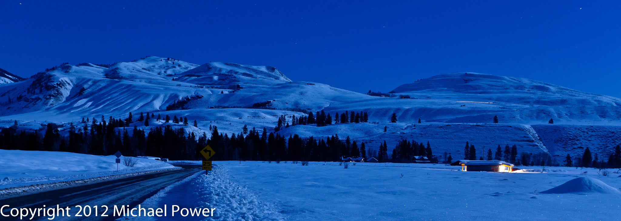 Photograph Methow Moonlight by Michael Power on 500px