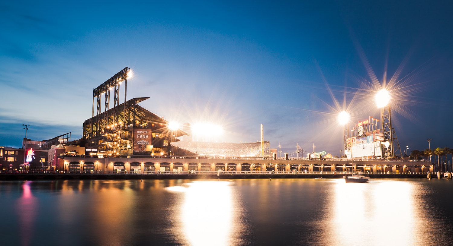 Photograph Home of the San Francisco Giants by Carlos Lopez on 500px