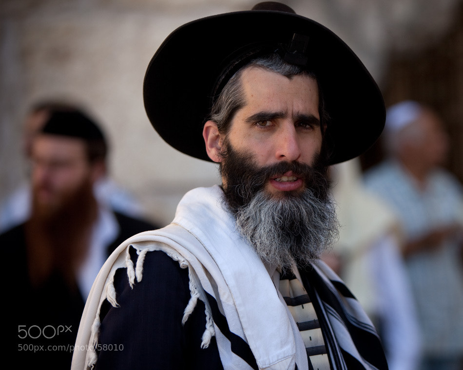 Photograph People near the Western Wall, Jerusalem by Ilya Filippov on 500px