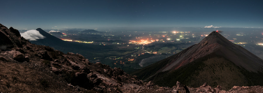 Volcanic panoramic by Santiago Billy on 500px.com