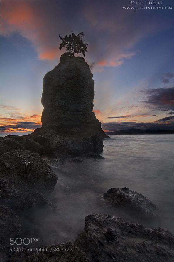 Photograph Siwash Sunset by Jess Findlay on 500px