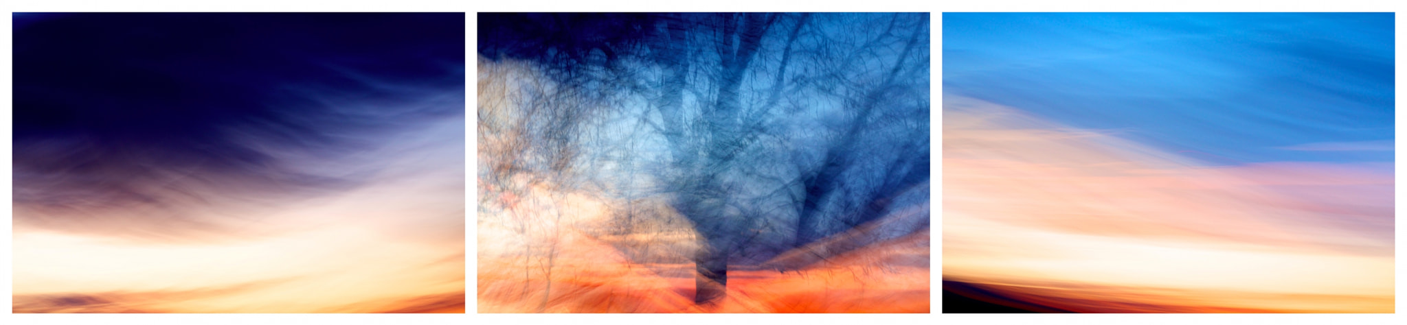 Photograph Sunset (Triptych) by Marie Ollendorf on 500px