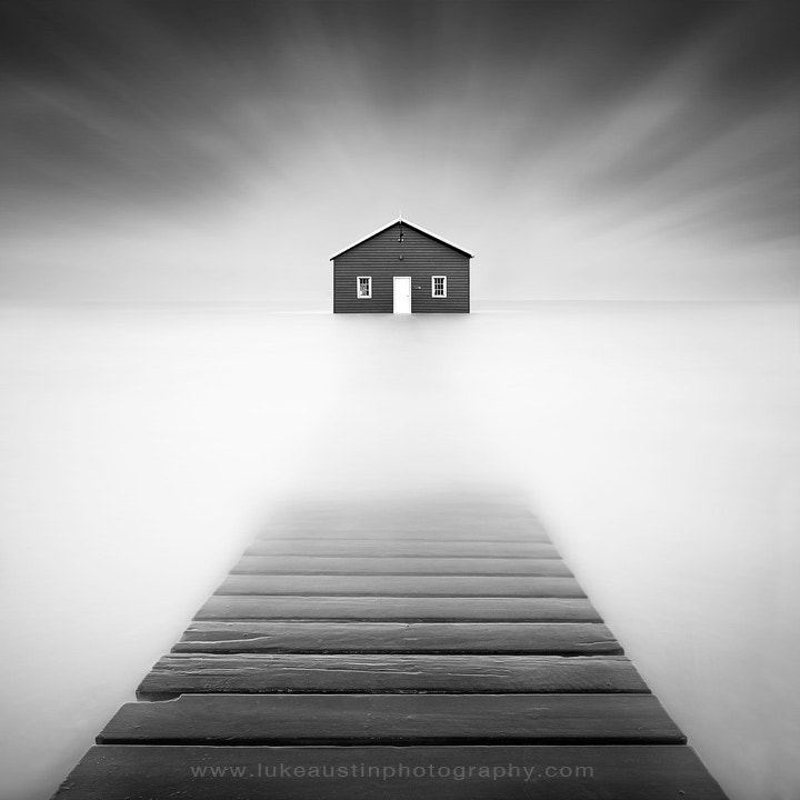 Photograph Persistence - Blue Boat Shed, Perth. Western Australia by Luke Austin on 500px