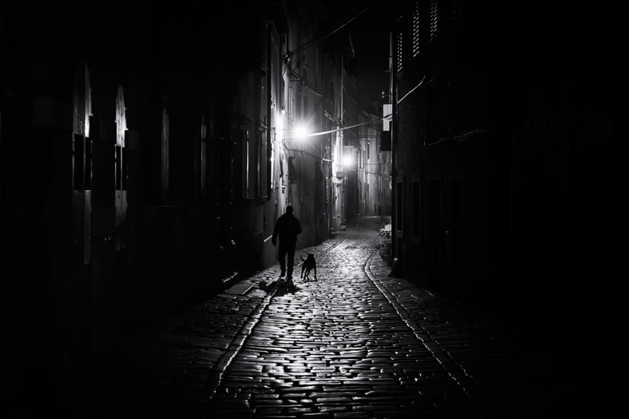 Photograph Street Noir by András Sümegi on 500px