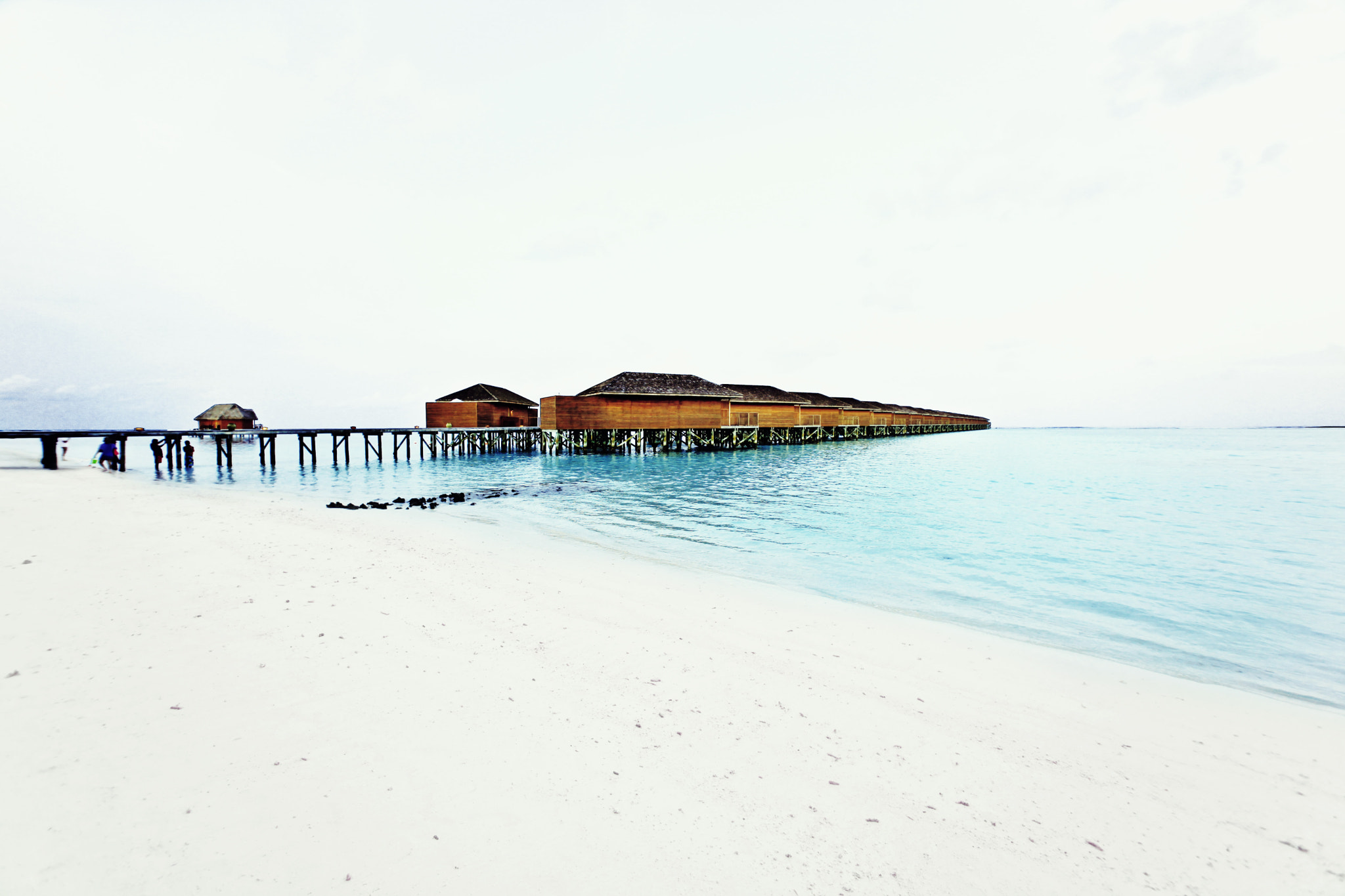 Photograph Maldives - Water Villas by Anthony B on 500px