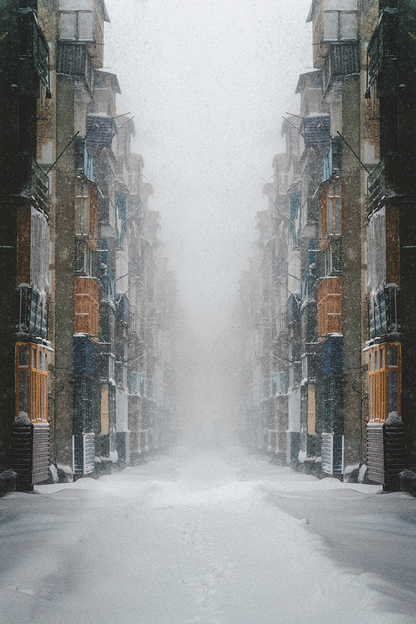 Photograph blizzard symmetry by Anur Shaymarov on 500px