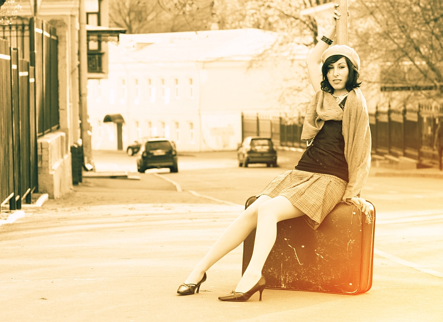 Photograph Old Suitcase by Vitaly Medvedev on 500px