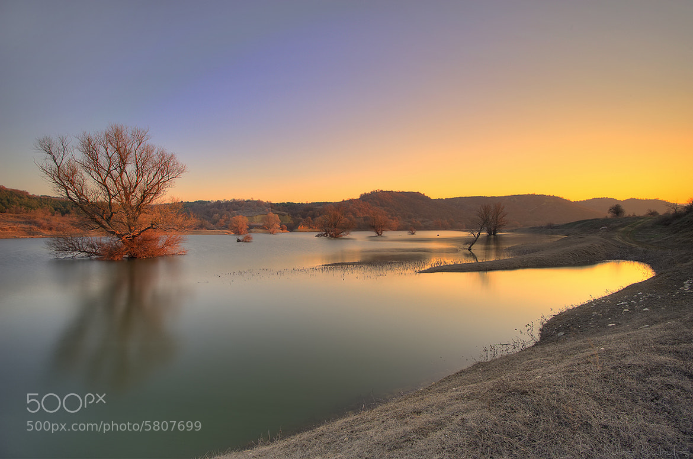 Photograph Lake sunset by Nikos Koutoulas on 500px