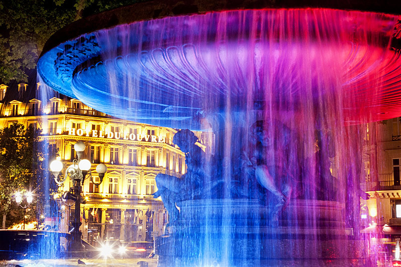 Photograph Fountain and Hotel de Louvre by Rich Voninski on 500px