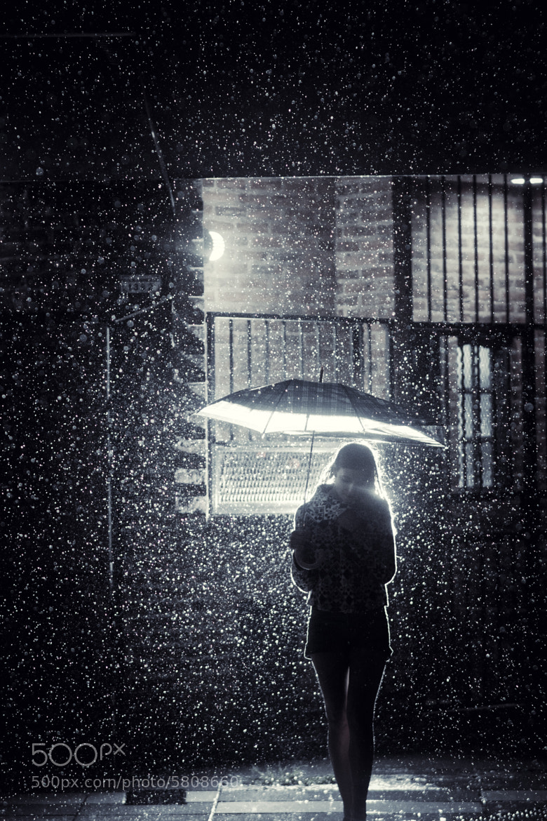 Photograph Barbie in the rain by Diego Epstein on 500px