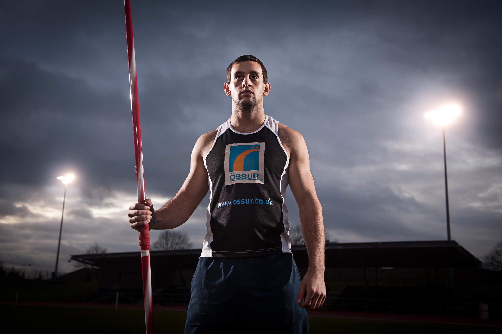 Photograph Scott Moorhouse, paralympian by Daniel Lewis on 500px