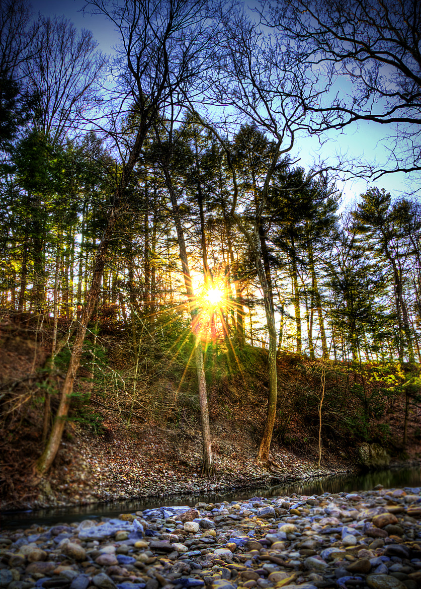 Photograph Sunburst At The Bank by Brian Michaud on 500px