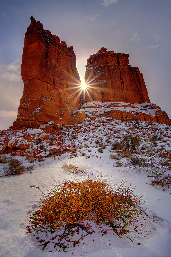Photograph Winter In The Arches by Kevin McNeal on 500px