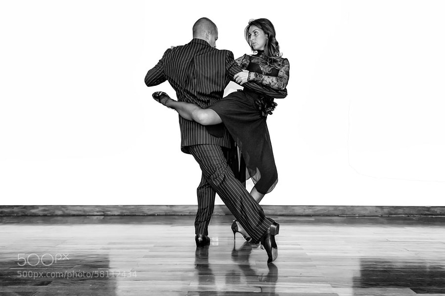 Photograph Tango Dancers by Francisco Amaral on 500px