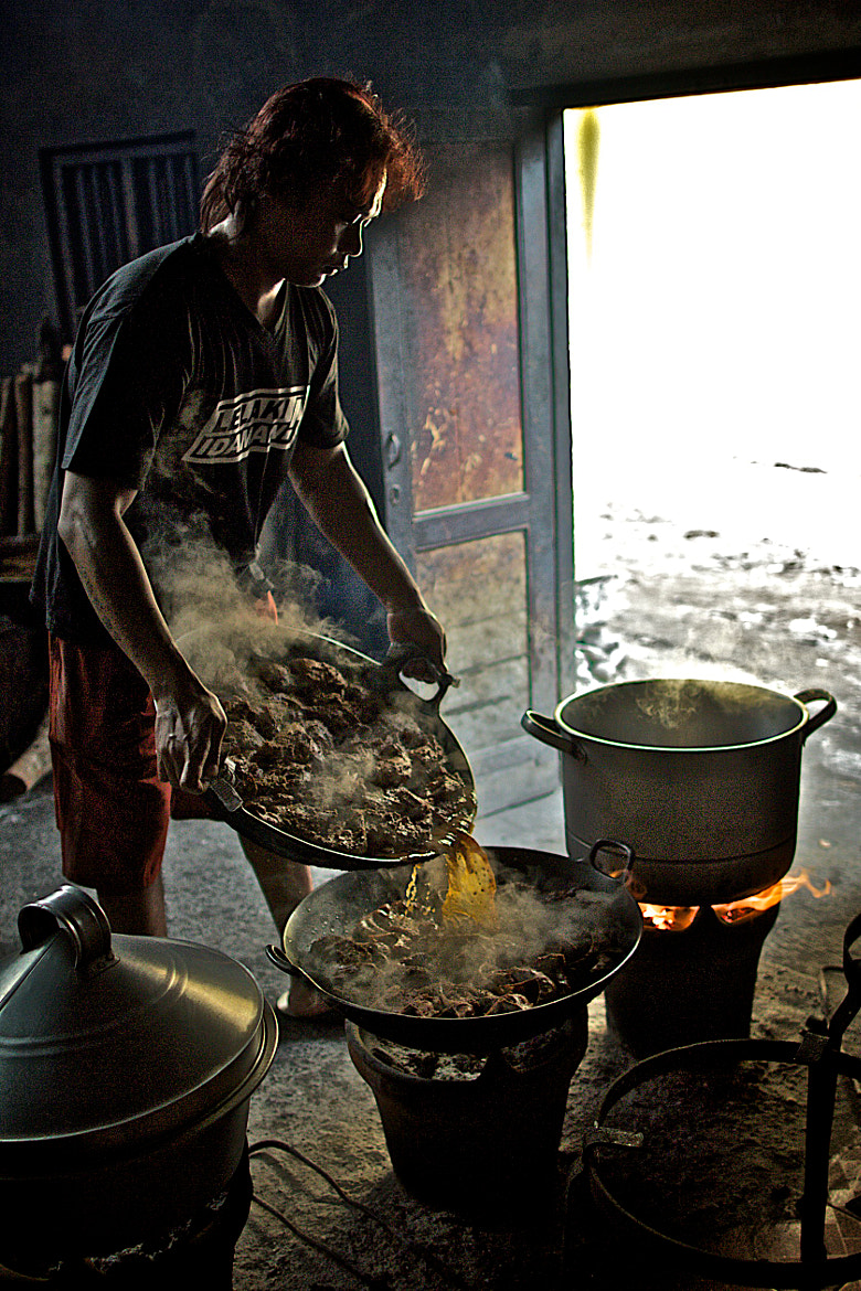 Photograph Cooking Gudeg by Candra Venus on 500px