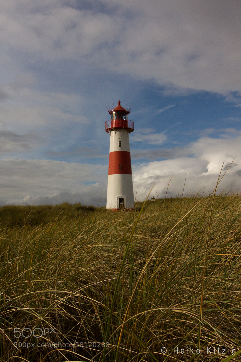 Photograph Lighthouse Red White in Sylt Germany by Heike Kitzig on 500px