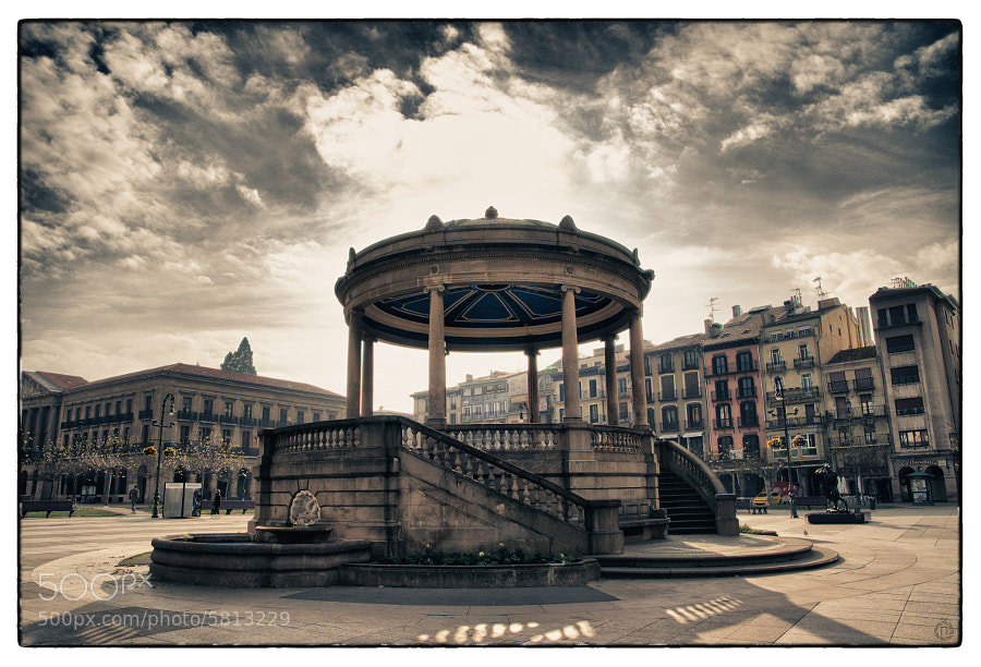 "Photograph Plaza del Castillo / Castle Square by ILM ""Ñ"" on 500px"