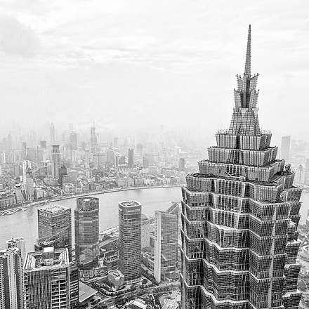 Shanghai and the Jin Mao Building