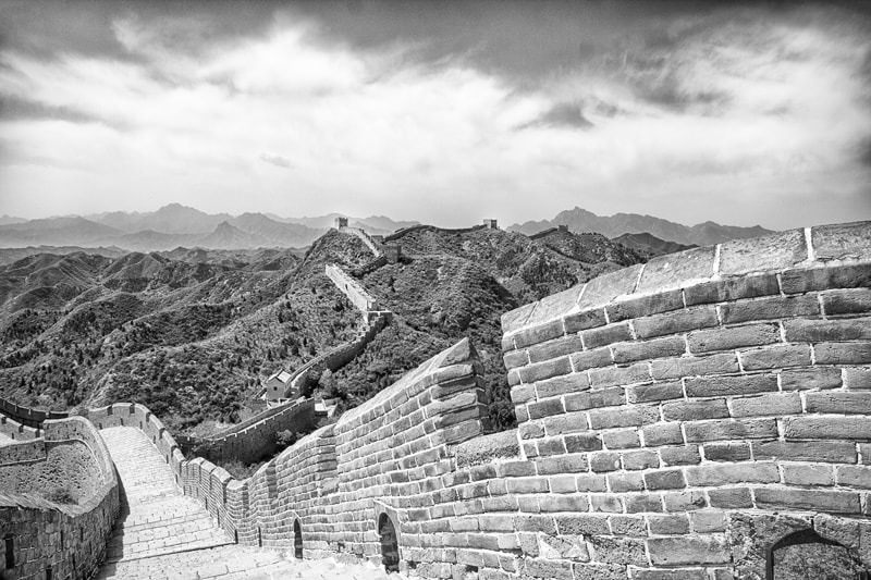 Photograph Expanse of the Great Wall by Rich Voninski on 500px
