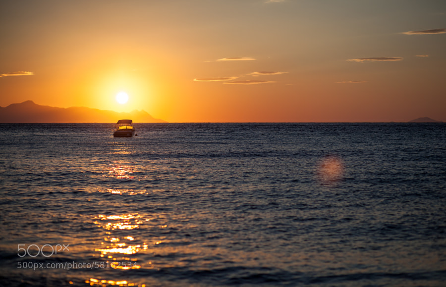 Santorini sunrise by Vladimir S. on 500px.com
