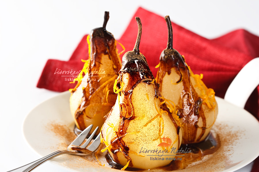 Photograph pears in chocolate by Natalia Lisovskaya on 500px