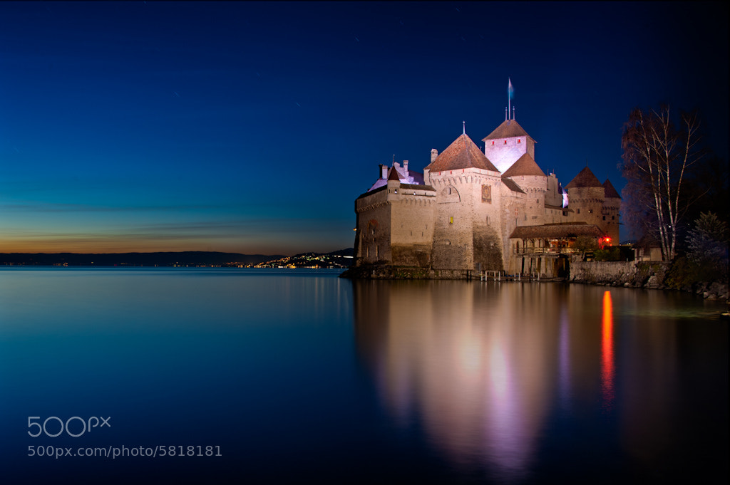 Photograph The Fortress at Night by Laurent Coppee on 500px
