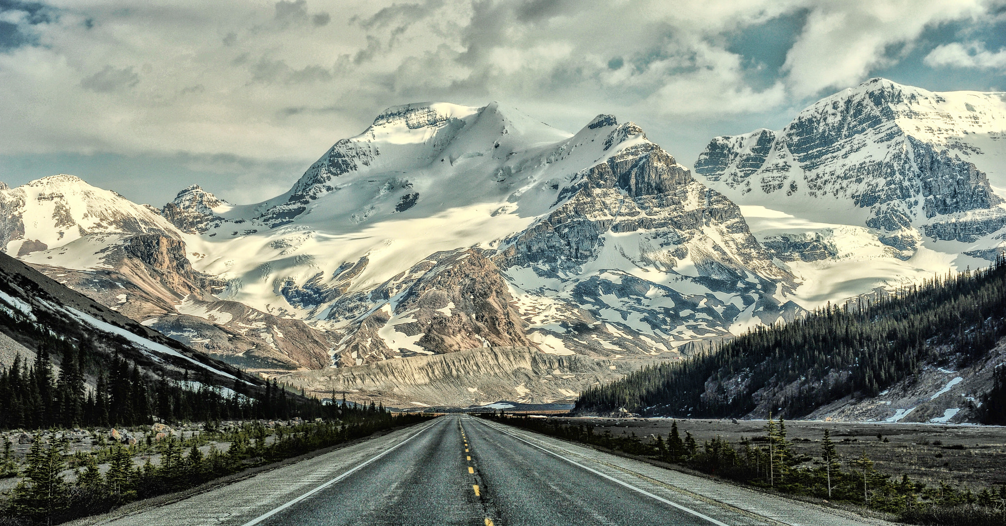 Photograph Road to the Rockies by Jeff Clow on 500px