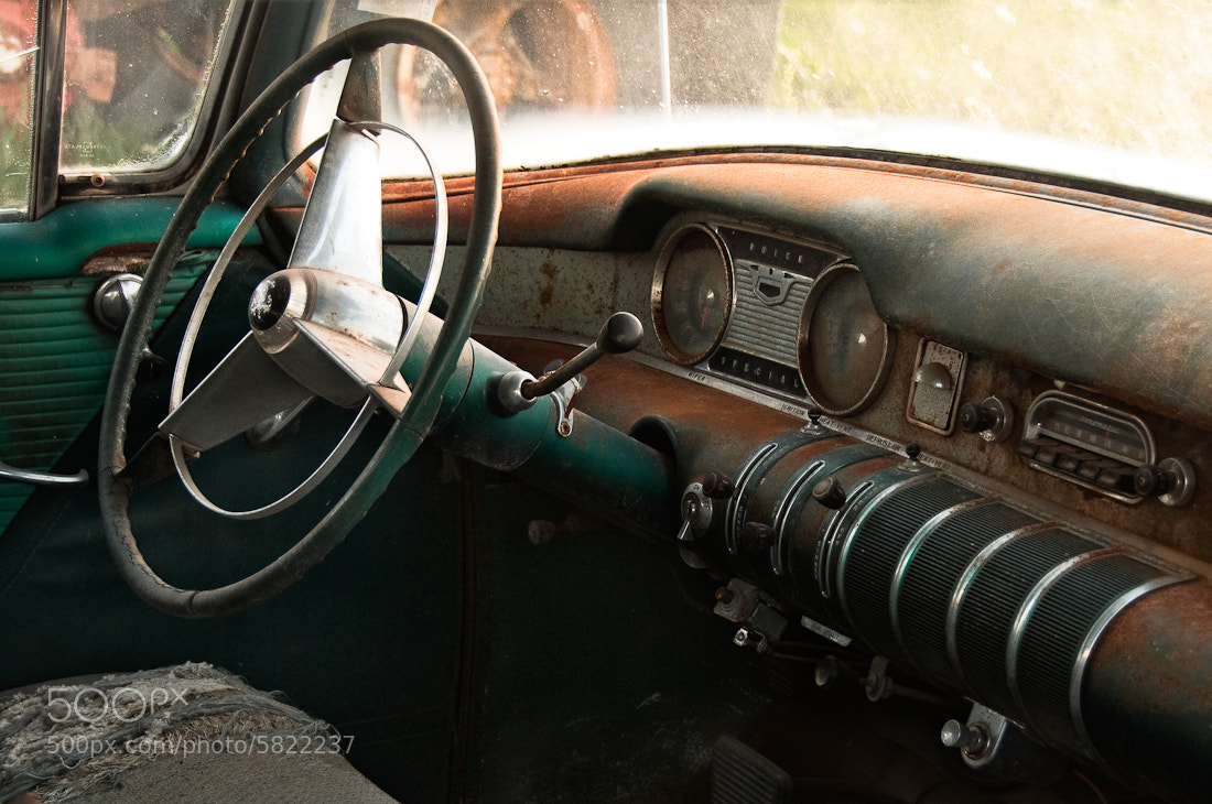Photograph Buick by Richard J Hamilton on 500px