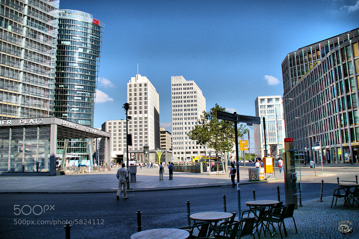 Photograph Potsdammmer Platz by peter may on 500px