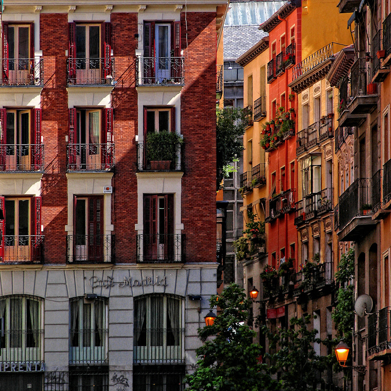 Photograph Balconies by Carlos Gotay on 500px