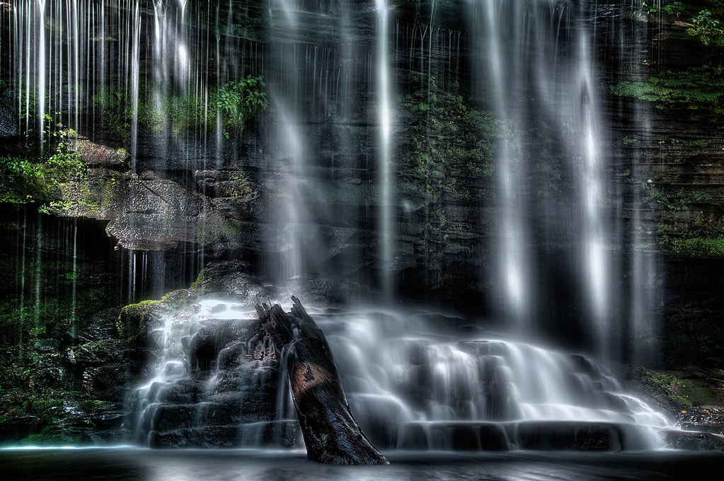 Photograph Luminous Falls by John Maslowski on 500px