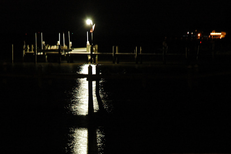 Photograph Pier At Night by Fred Brundick on 500px
