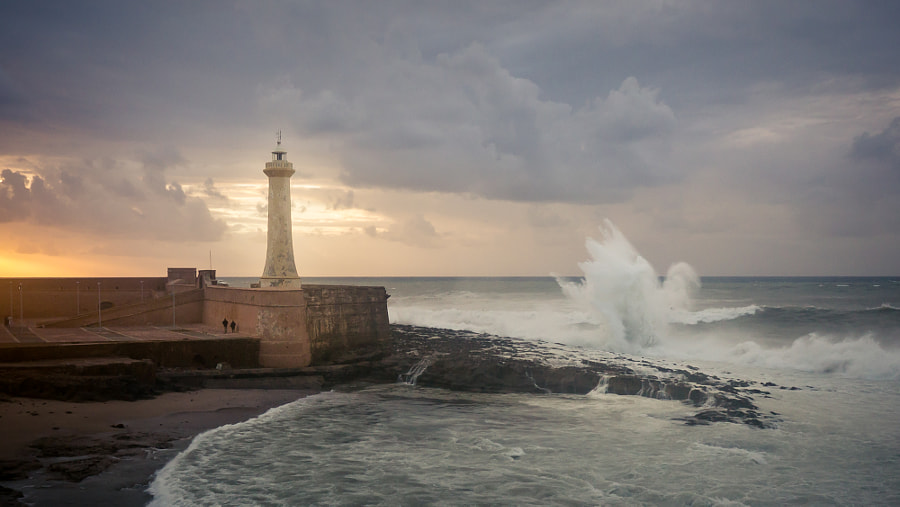 Rabat Lighthouse by Amine Fassi on 500px.com