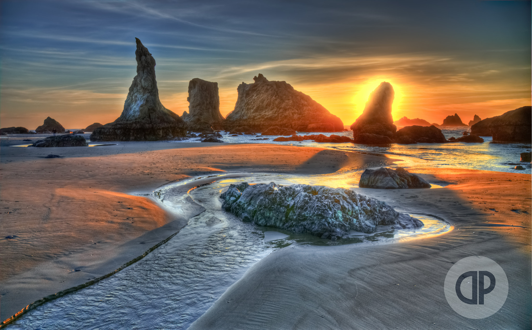 Photograph Sunset in Bandon by Dutta Photography on 500px