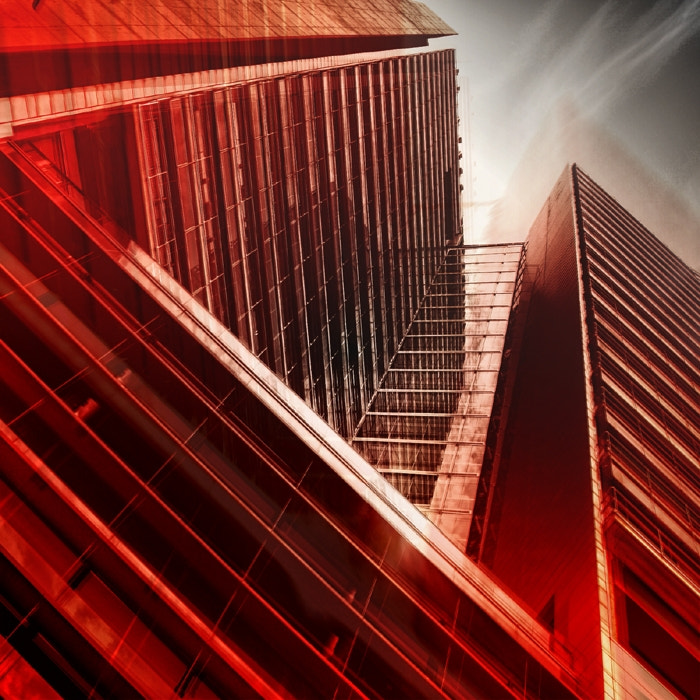 Photograph extrusion in red by Vladimir Perfanov on 500px