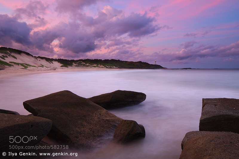 Photograph Sunset at Norah Head by Ilya Genkin on 500px