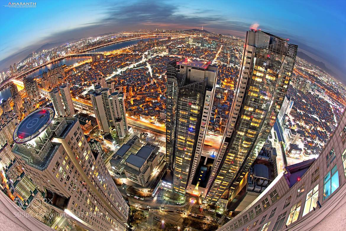 Photograph At the top of 58-story building by Chris Park on 500px