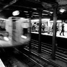 New-York subway B&W