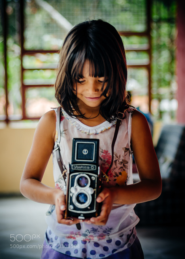 Photograph First smile with a TLR by D|AMAR|AL  on 500px