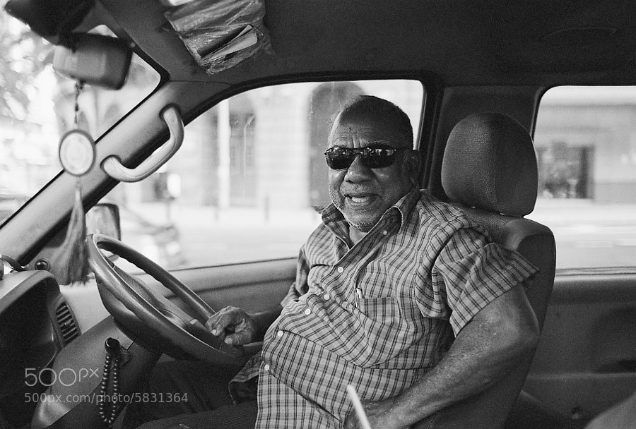 A friendly driver that i met in Kuala Lumpur, Malaysia.
