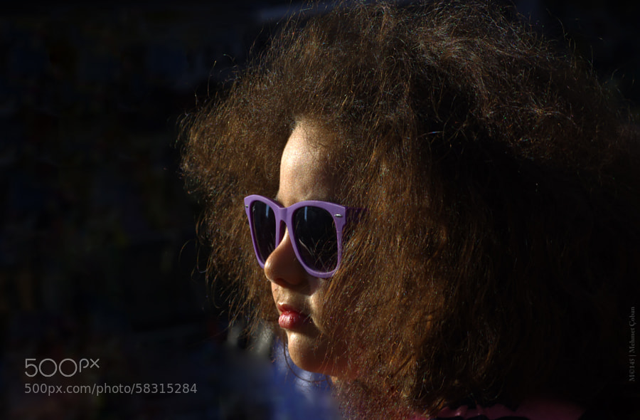 """girl with glasses by Mehmet Çoban on 500px.com"""" border=""""0"""" style=""""margin: 0 0 5px 0;"""