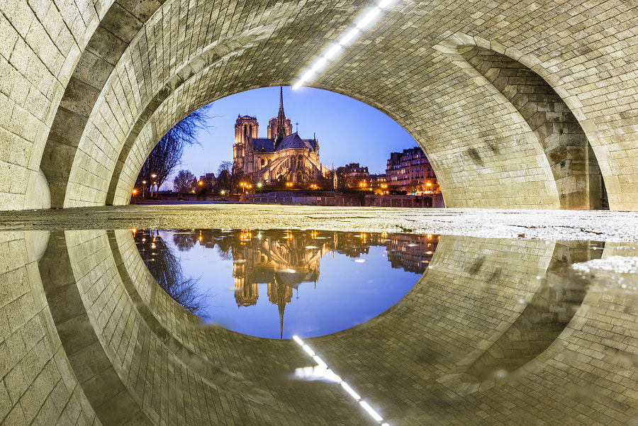 Photograph The Eye of Notre Dame de Paris by Loïc Lagarde on 500px
