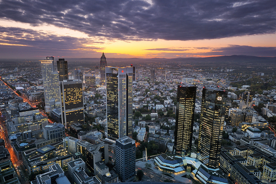 Frankfurt by Olaf Dziallas on 500px.com