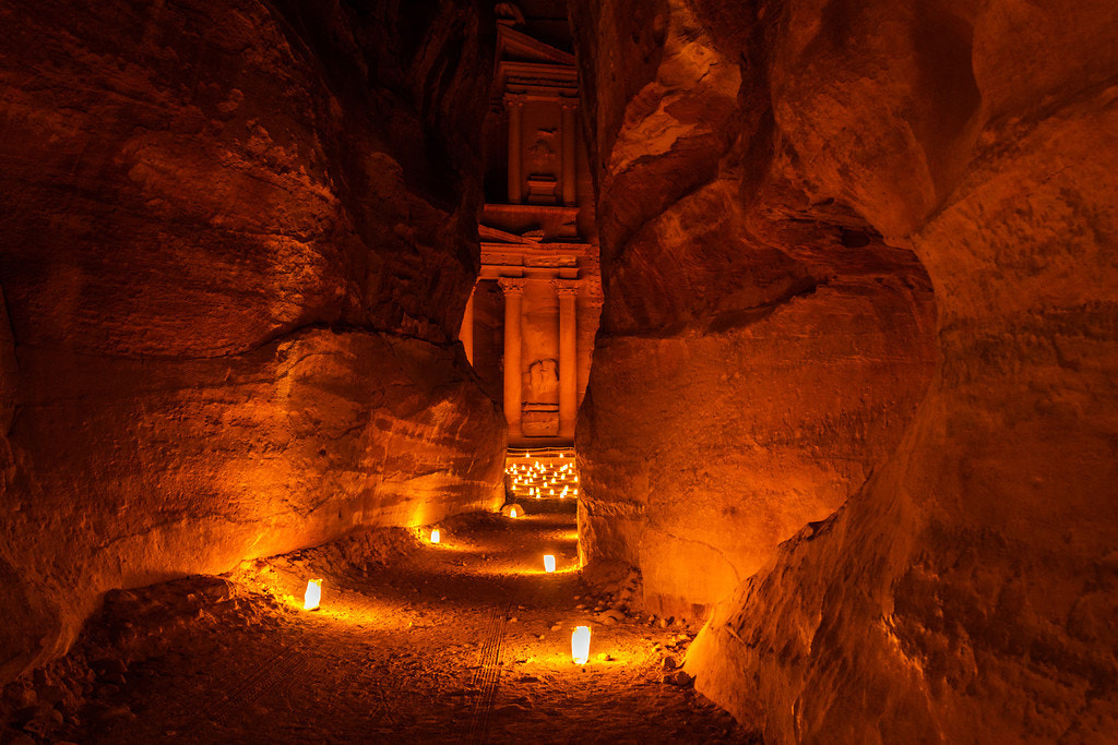 Photograph Petra By Night by Abdullah Suleiman on 500px