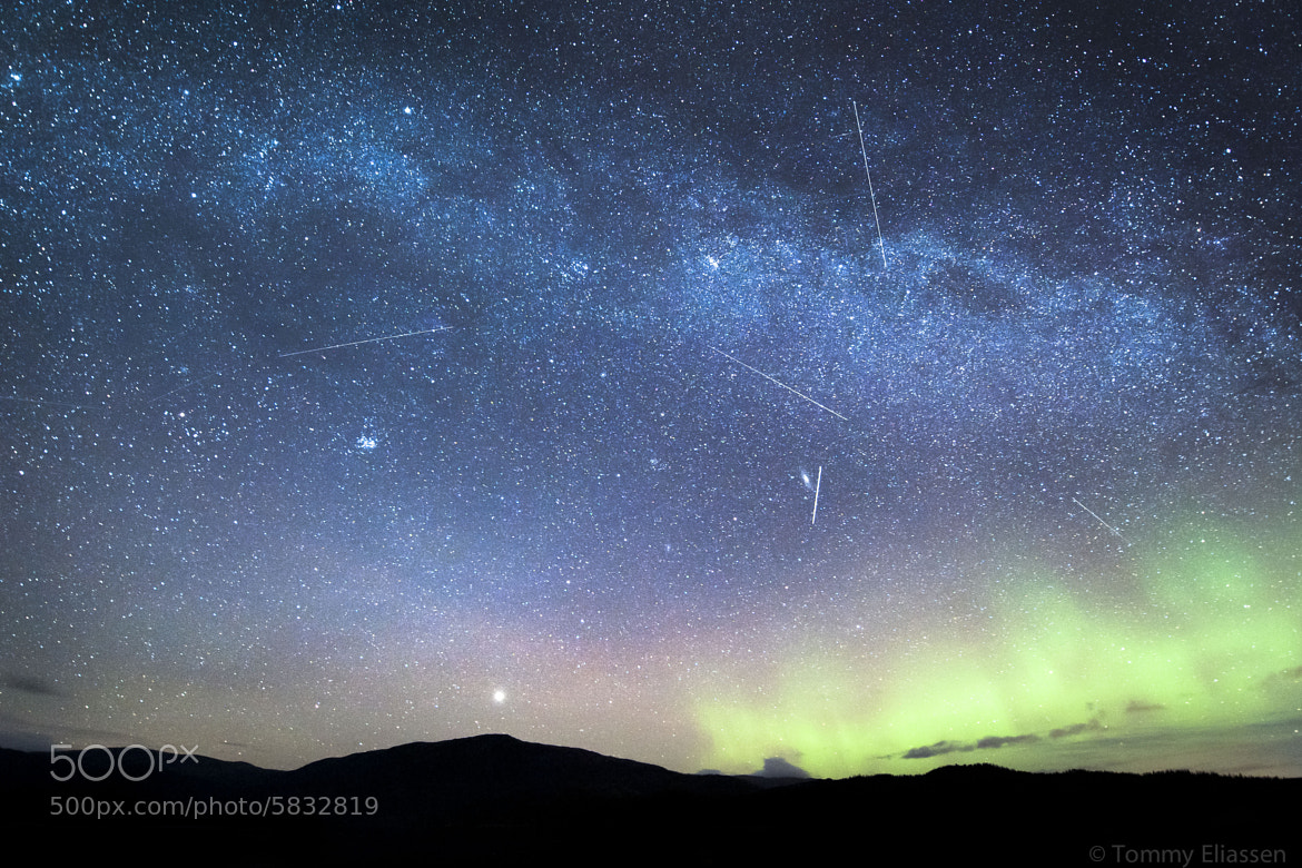 Photograph Space traffic by Tommy Eliassen on 500px