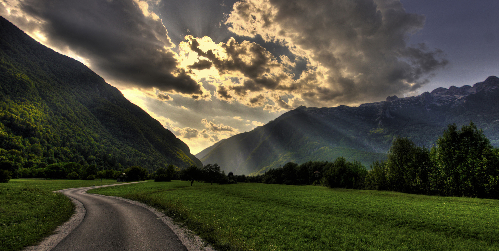 Photograph Road to the light by H. Csaba on 500px