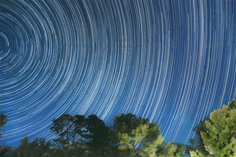 Photograph @Star Trails, California by Yushin (Andy) Cho on 500px